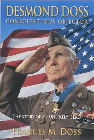 Buy the book Desmond Doss Conscientious Objector: The Story of an Unlikely Hero through this affiliate link with Amazon