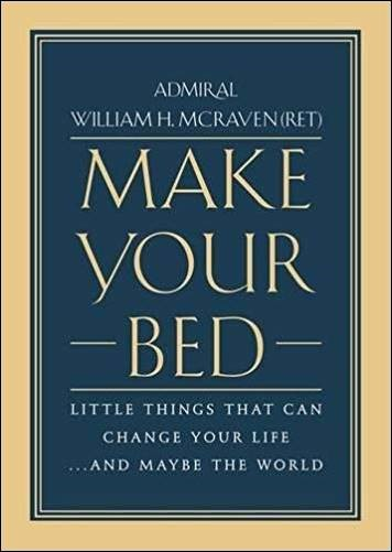 Buy the book Make Your Bed: Little Things That Can Change Your Life...And Maybe the World through this affiliate link with Amazon