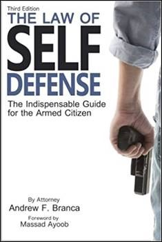 Buy the book The Law of Self Defense, 3rd Edition through this affiliate link with Amazon