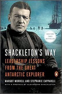 Buy the book Shackleton's Way: Leadership Lessons from the Great Antarctic Explorer through this affiliate link with Amazon