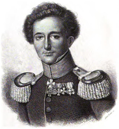 Portrait of Carl von Clausewitz