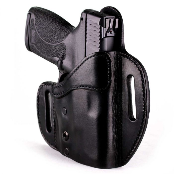 Image of an OWB leather holster by Urban Carry